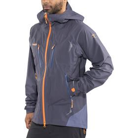 Bergans Storen Jacket Herren night blue/dusty blue/pumpkin